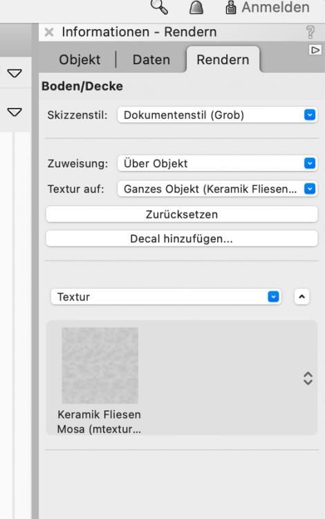 Infopalette Textur nicht bearbeitbar.png